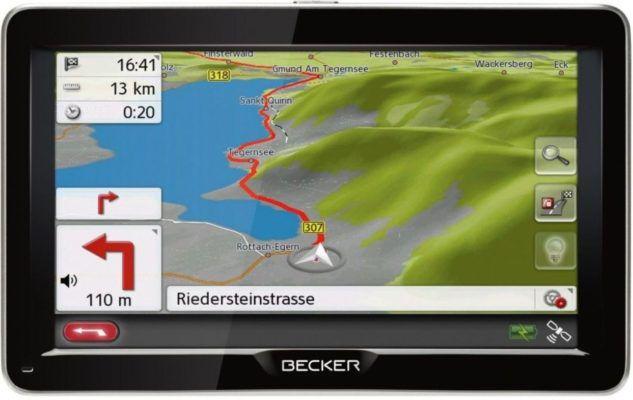 Becker Ready 70   7 Zoll Navi 45 Länder Europa Lifetime Updates (refurbished) für 94,90€