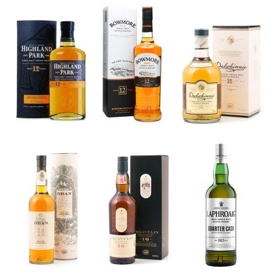 Bis zu 60€ Spirituosen Rabatt bei Delinero   z.B. Bar Set mit 6 Flaschen für 146€ (statt 206€)