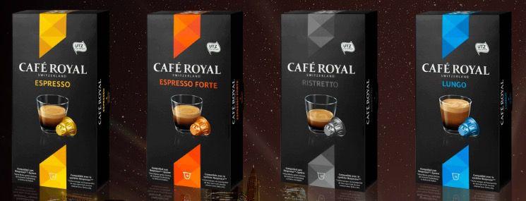 Kaffee Royal mit 30€ Rabatt ab 70€ auf kompatible Nespresso & Dolce Gusto Kapseln