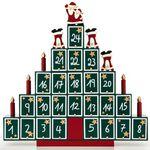 Deuba Holz Adventskalender zum Befüllen für 17,95€