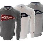 Tommy Hilfiger Pullover bis L mit gesticktem Logo auf dem Ärmel für je 34,90€