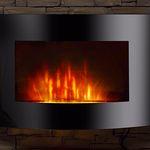 El Fuego Zürich Elektrokamin mit Heizfunktion und Kaminfeuer-Effekt für 119,95€ (statt 149€)
