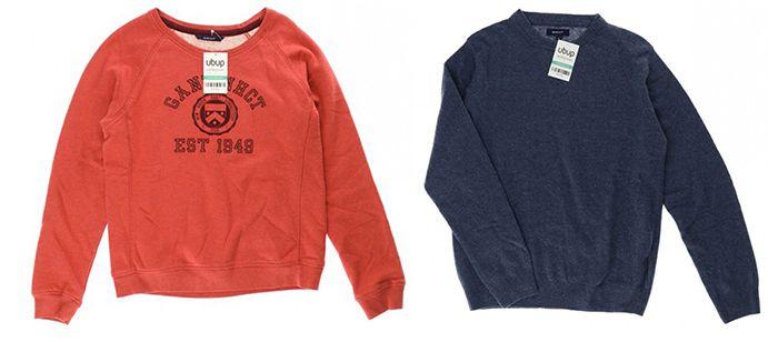 15% auf GANT Second Hand Kleidung bei ubup + VSK frei