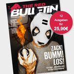 12 Ausgaben The Red Bulletin für effektiv 5,90€