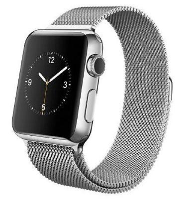 Apple Watch 38mm mit Milanaise Edelstahlarmband für 304,68€ (statt 389€)