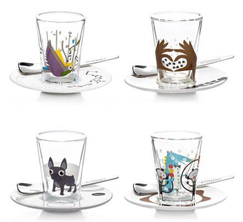 2er Sets Ritzenhoff Bacino Espresso Gläser + Untertasse + Löffel für 19,95€ (statt 30€)