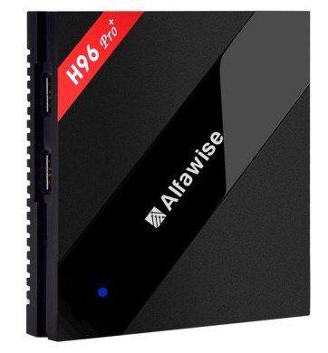 Alfawise H96 Pro+ TV Box mit Android 6 + 3GB Ram für 65,64€ (statt 76€)