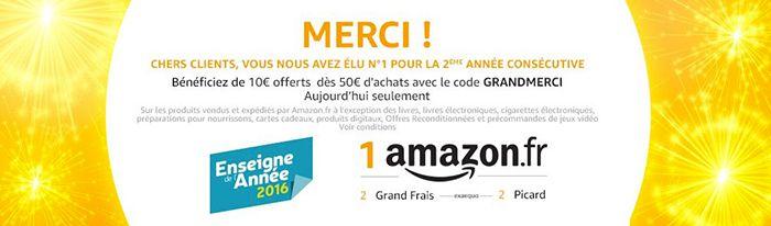 10€ Gutschein für Amazon Italien & Frankreich mit je 50€ MBW
