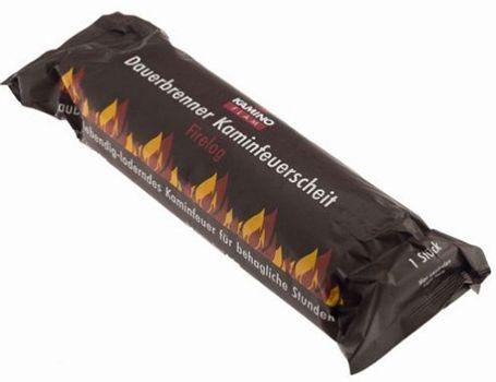 10er Pack KaminoFlam Kaminfeuerscheit für 19,95€ (statt 29€)   Brennstoff für Kamin  oder Holzofen