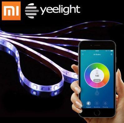 Xiaomi Yeelight Smart Light Strips (2 Meter) mit App Steuerung für 27,38€ (statt 34€)