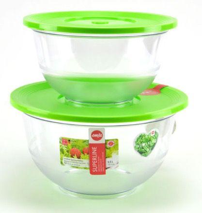 2er Set Emsa Salat Schüsseln für 13,90€ (statt 20€)