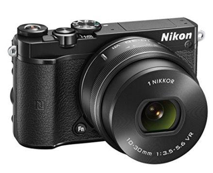 Nikon 1 J5 Systemkamera mit 4K inkl. 10 30 mm für 366,78€ (statt 415€)