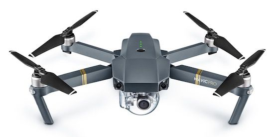 DJI Mavic Pro 4K Drohne (Quadrocopter) für 766€ (statt 840€)