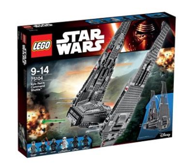 Schnell? Lego Star Wars   Kylo Rens Command Shuttle für 63,98€ (statt 88€)