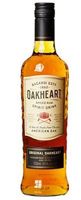 0,7 Liter Bacardi Oakheart Spiced Rum ab 9,99€ (statt 16€)