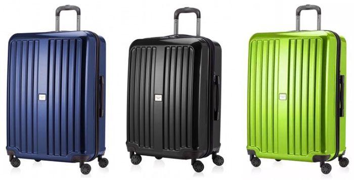 50% auf ALLE Koffer der X Berg Reihe   z.B. 126 Liter Hartschalen Spinner + TSA Schloss für 80€ (statt 100€)