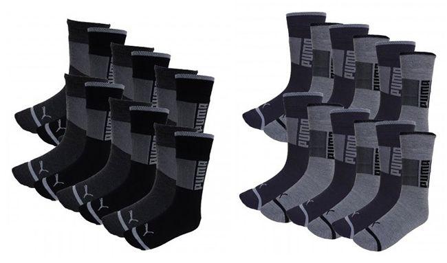 Bildschirmfoto 2016 11 09 um 08.59.19 12er Pack Puma Promo Herren Socken für 25,95€ (statt 33€)