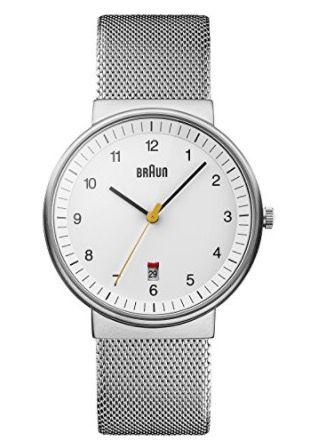 Vorbei! Braun BN0032WHSLMHG Herren Classic Armbanduhr für 55,43€ (statt 125€)