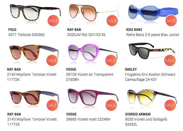 Bildschirmfoto 2016 11 10 um 10.49.00 Großer Sonnenbrillen Sale bei Sunglasses   z.B. Ray Ban 3025JM Rot für 58€ (statt 67€)