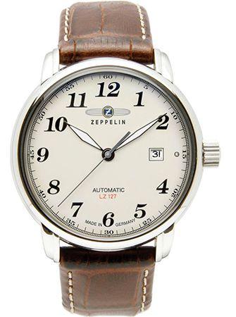 Schnell! Zeppelin Hindenburg LZ 127 Automatikuhr für 145€ (statt 251€)