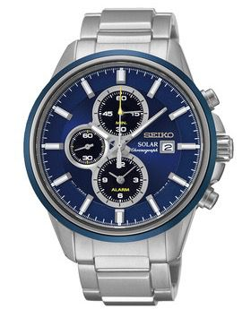 Seiko SSC253P1 Herren Solar Armbanduhr für 175,90€ (statt 239€)