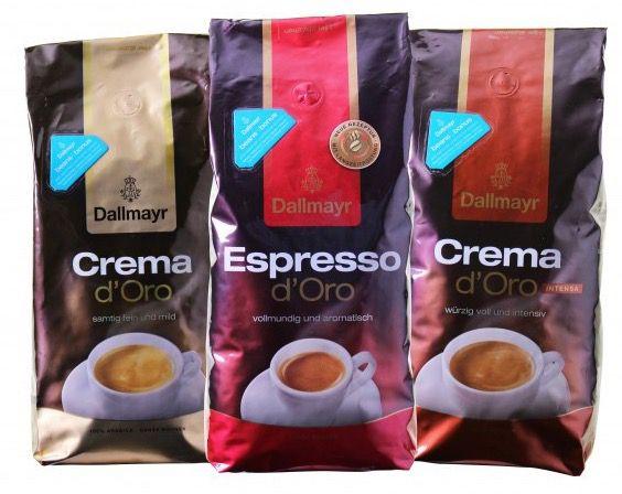 3kg Dallmayr dOro Probierpaket Kaffeebohnen für 25,49€ (statt 30€)