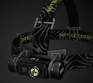 Nitecore HC60   Wiederaufladbare LED Stirnlampe mit 1000 Lumen für 37,71€(statt 53€)   aus EU