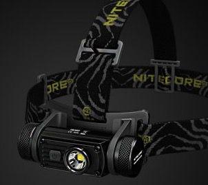 Geht wieder! Nitecore HC60   Wiederaufladbare LED Stirnlampe mit 1000 Lumen für 38,46€(statt 56€)