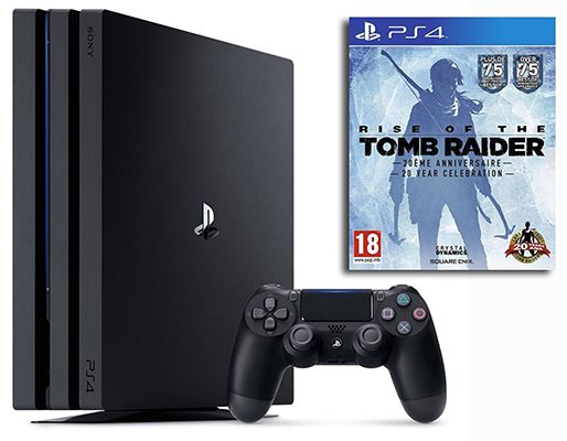 Playstation 4 Pro + Rise of the Tomb Raider für 404,11€ (statt 432€)