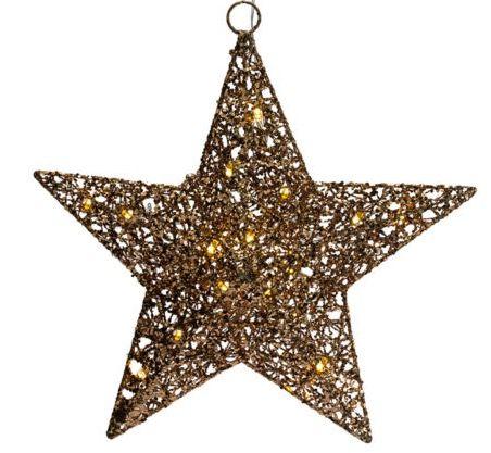 Beleuchteter LED Stern Glitzerschein für 9,99€ (statt 20€)