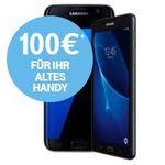 Samsung Galaxy S7 (Edge) ab 1€ + Telekom LTE Tarife ab 39,95€ mtl. + 100€ Cashback