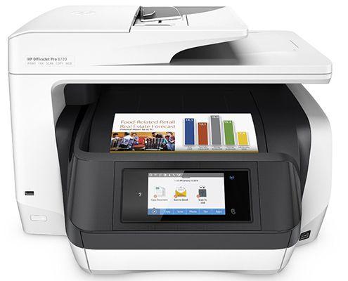 HP Officejet Pro 8720 Tintenstrahl Multifunktionsdrucker für 197,50€ (statt 223€) + 50€ Cashback + 20€ Tankkarte