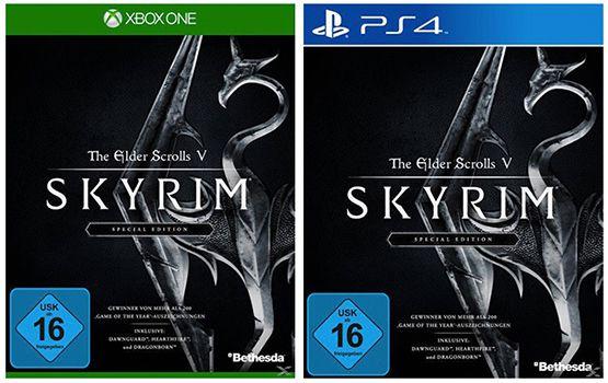 The Elder Scrolls V: Skyrim   Special Edition (PS4 / Xbox One) ab 29€ (statt 49€)