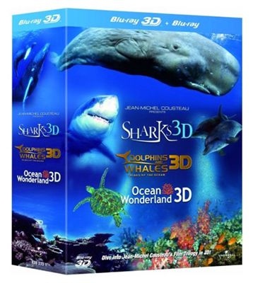 Jean Michel Cousteaus Film Trilogy in 3D für 7,19€ (statt 14€)