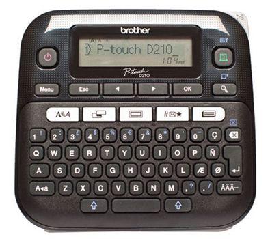 Brother P Touch D210 Beschriftungsgerät für 19,99€ (statt 25€)