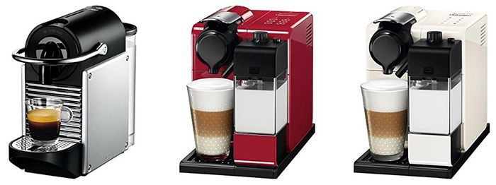 Nespresso Maschinen Sale + bis zu 200 Kapseln gratis   z.B. DeLonghi Pixie für 92€ (statt 100€)