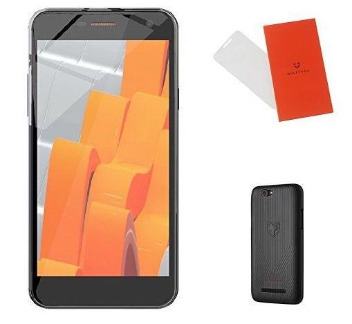 Wileyfox Spark Plus   5 Zoll Dual Sim Smartphone + Schutzhülle + Displayfolie für 124,67€ (statt 165€)