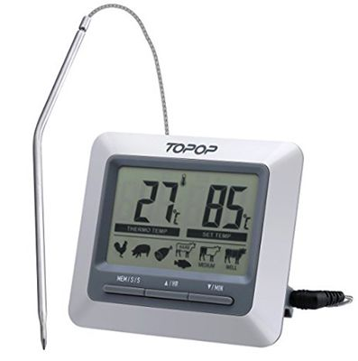 Topop Barbecue Grill Thermometer ab 9,99€ (statt 16€)