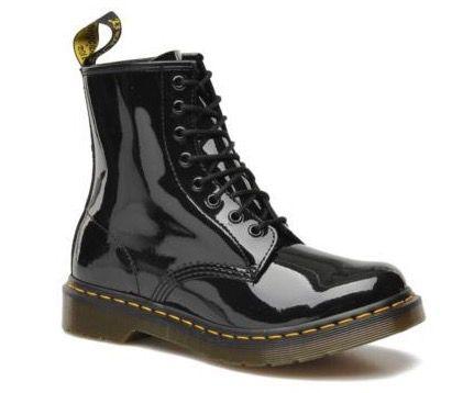 Dr. Martens Damen Leder Stiefel mit 8 Loch Schnürung für 63€ (statt 88€)