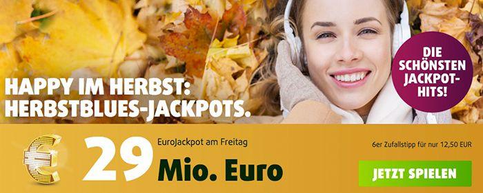 Bildschirmfoto 2016 11 17 um 12.13.01 Lottoland: 3 Tippfelder Eurojackpot (29 Mio. Jackpot!) + 15 Rubellose für 0,99€ für alle Neukunden