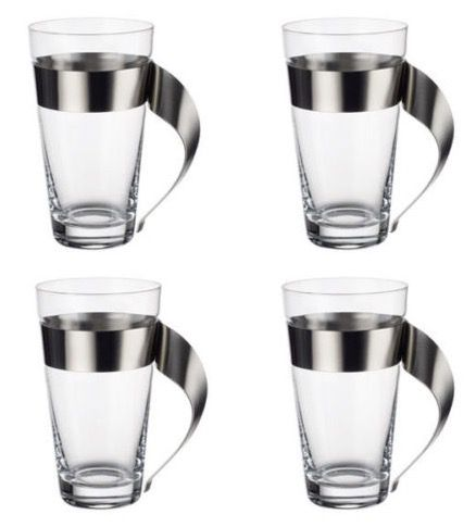 4er Set Villeroy & Boch New Wave Latte Macchiato Gläser für 49,90€ (statt 60€)
