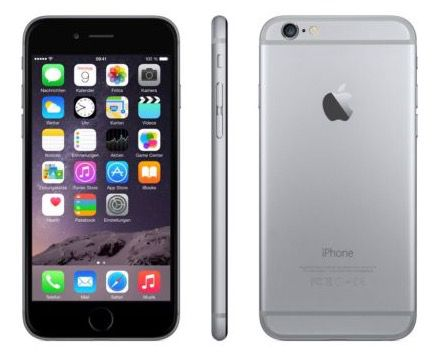 Apple iPhone 6   64GB [B Ware] für 299,90€