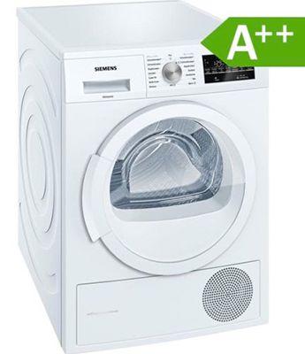 Siemens WT45W460 Wärmepumpentrockner 7kg A++ für 413,10€ (statt 551€)