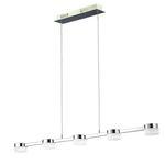 Wofi Logan LED Ess-/Wohnzimmerleuchte dimmbar ab 44,99€ (statt 84€)