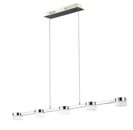 Wofi Logan LED Ess /Wohnzimmerleuchte dimmbar ab 44,99€ (statt 84€)