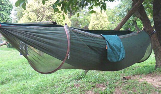 Hängematte für bis zu 2 Personen + Mückenschutz ab 10€