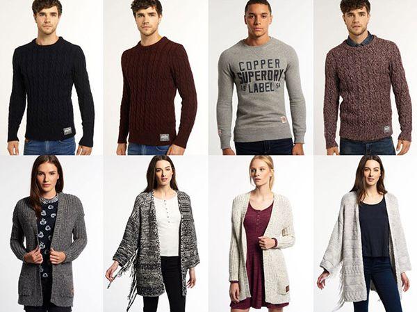 Superdry   Pullover für Damen und Herren für je 39,95€