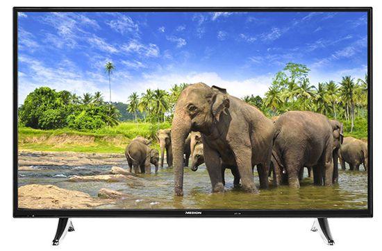 Medion LIFE X18060   43 Zoll Full HD Fernseher mit Triple Tuner für 333,33€ (statt 379€)