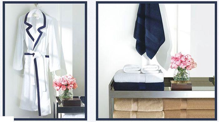 Ralph Lauren Home Sale bei vente privee   z.B. Gästehandtuch aus Baumwolle nur 7,50€