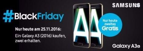Bildschirmfoto 2016 11 21 um 16.24.05 2er Pack Samsung Galaxy A3 (2016) für 279€ (statt 412€)